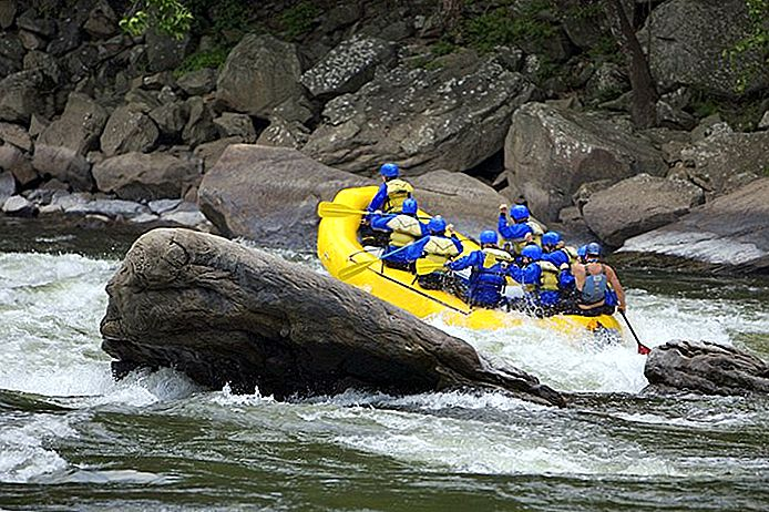 5 mejores ríos de Rafting en aguas bravas en Virginia Occidental