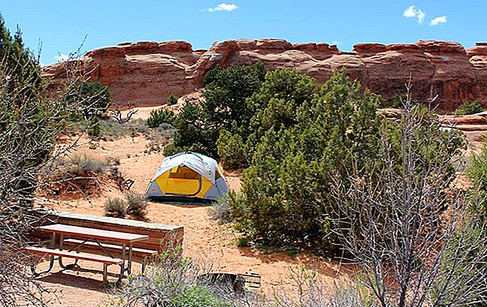9 beste campings in de buurt van Moab: Arches, Canyonlands, Dead Horse Point, BLM, & More
