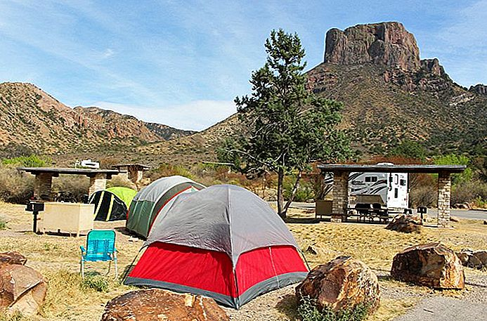 11 Labākie Campgrounds pie Big Bend National Park