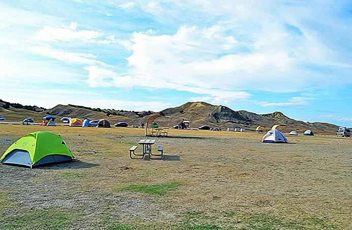 6 bästa campingplatser i Badlands nationalpark
