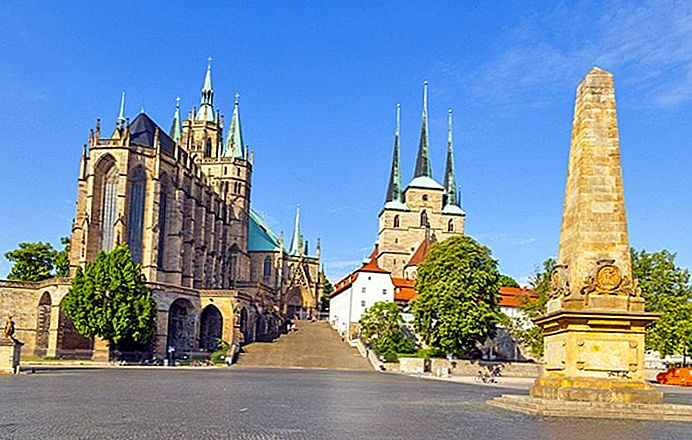8 Top Turistattraktioner i Erfurt & Easy Day Trips