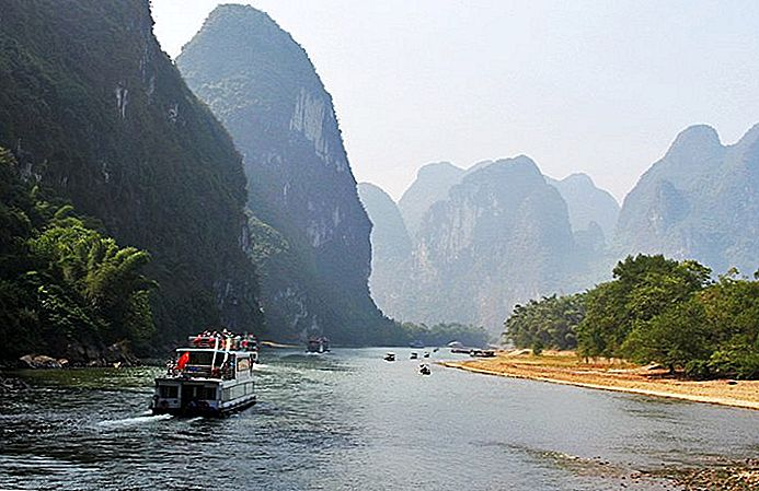 Guilin do Yangshuo in Li River Cruise: zanimivosti, nasveti in ture